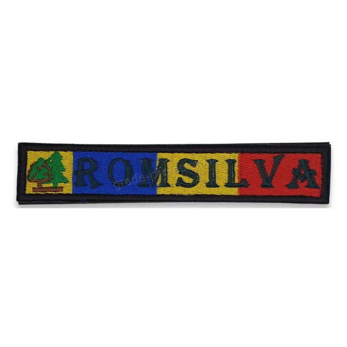 Emblema drapel Romsilva