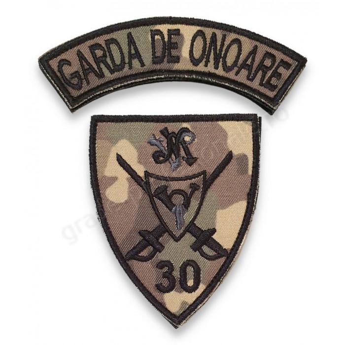 """Emblema Brigada 30 Garda """"Mihai Viteazul"""""""