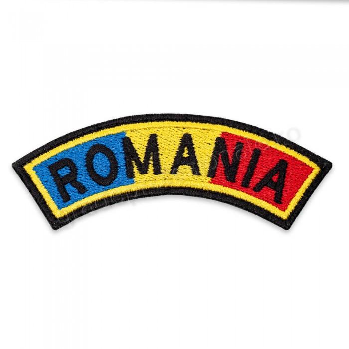 Ecuson drapel semirontund Romania