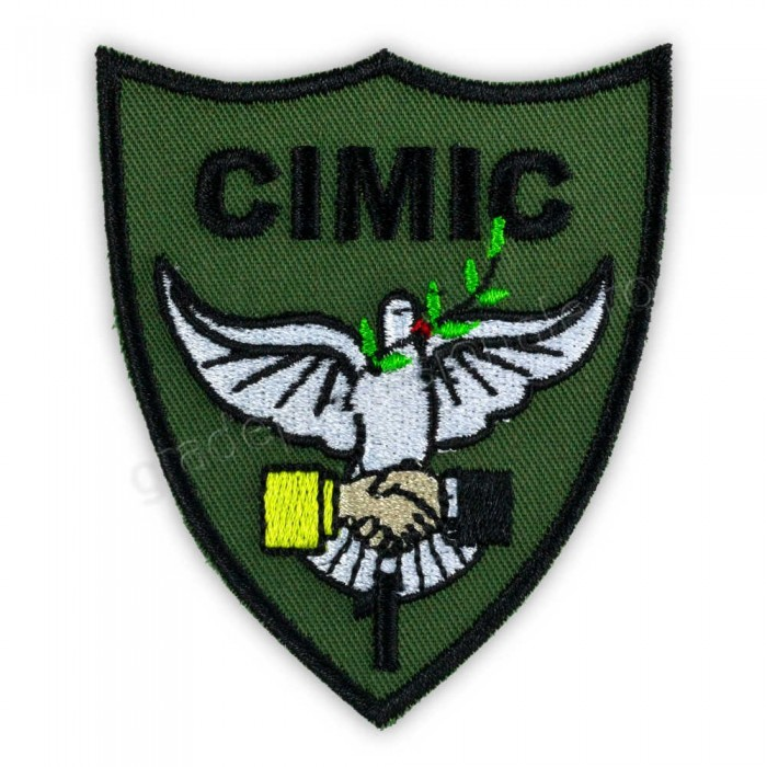 Emblema Batalion 1 CIMIC pentru instructie