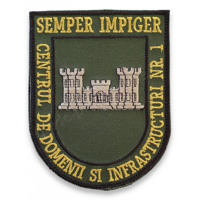 Emblema Centrul de Domenii si Infrastructuri nr.1