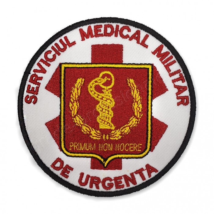 Emblema Serviciul Medical Militar de Urgenta