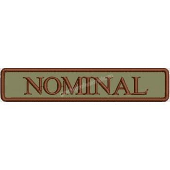 Ecuson nominal forte terestre