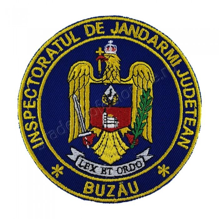 Emblema Inspectoratul de jandarmi judetean Buzau, emblema IJJ Buzau