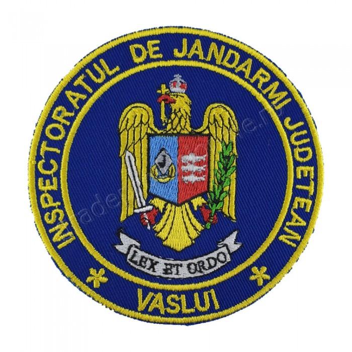Emblema maneca inspectoratul judetean de jandarmi Vaslui