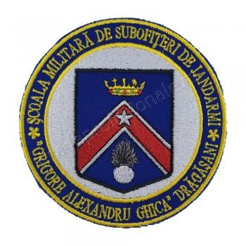 Emblema Scoala Militara de Subofiteri de Jandarmi Grigore Alexandru Ghica Dragasani
