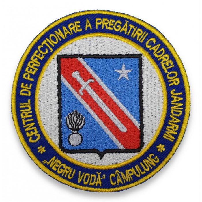 "Emblema Centrul de Perfectionare a Pregatirii Cadrelor Jandarmi ""Negru-Voda"" Campulung"