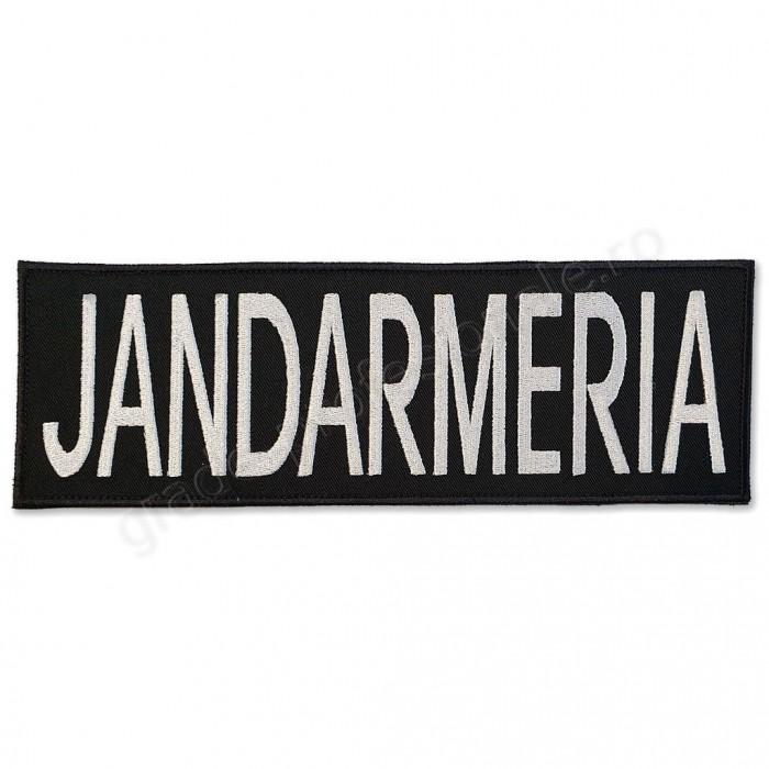 Emblema JANDARMERIA spate