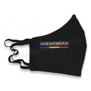 Masca brodata JANDARMERIA