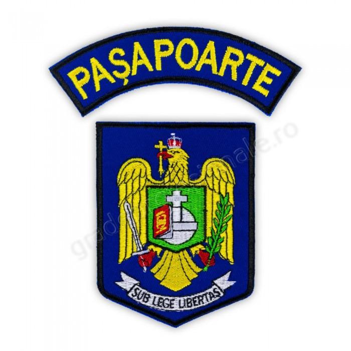 Embleme Directia Generala Pasapoarte DGP