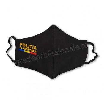 Masca brodata POLITIA DE FRONTIERA
