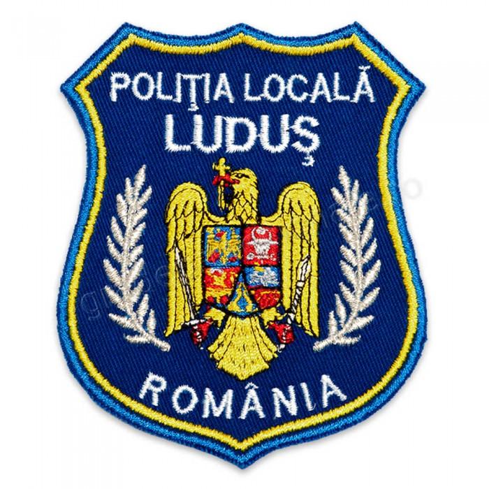 Emblema brodata Politia Locala 2 personalizabila