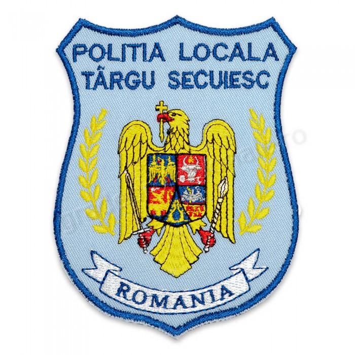 Emblema brodata Politia Locala 4 personalizabila