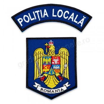 Emblema Politia Locala, brodata, varianta 7