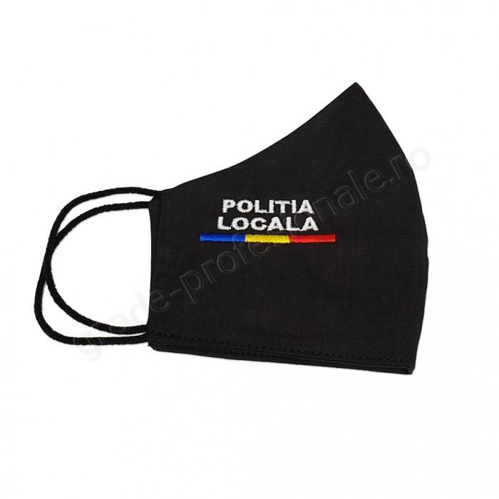 Masca brodata POLITIA LOCALA