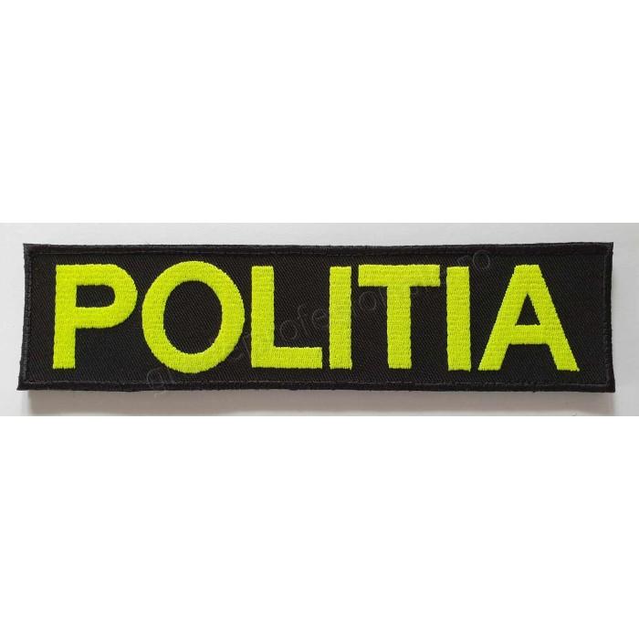 Emblema POLITIA spate
