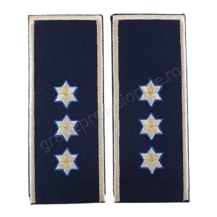 Grade politie, Comisar sef politie, IGPR