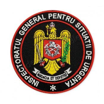 "Emblema rotunda ""INSPECTORATUL GENERAL PENTRU SITUATII DE URGENTA"""