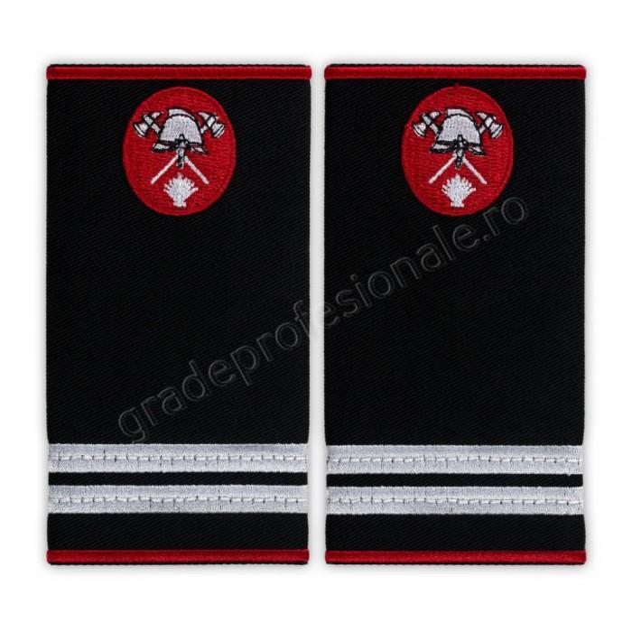 Grade locotenent pompieri, IGSU