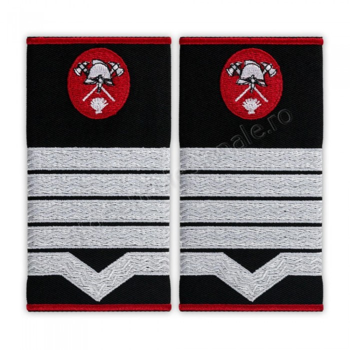 Grade Maistru militar clasa 1 pompieri, IGSU