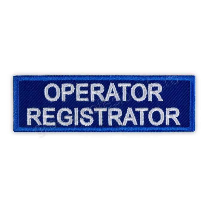 Ecuson operator registrator ambulanta