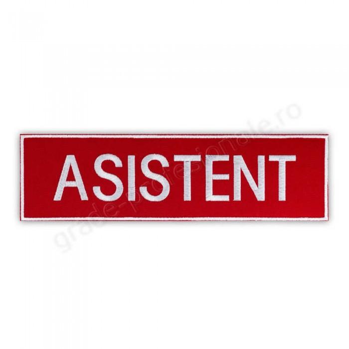 """Emblema """"ASISTENT"""""""