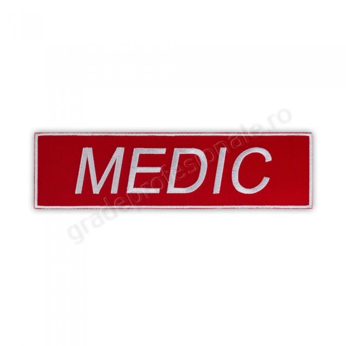 Emblema MEDIC-SMURD spate