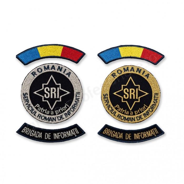 Emblema Brigada de Informatii