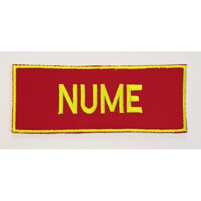 Emblema nominala SMURD -vernil neon